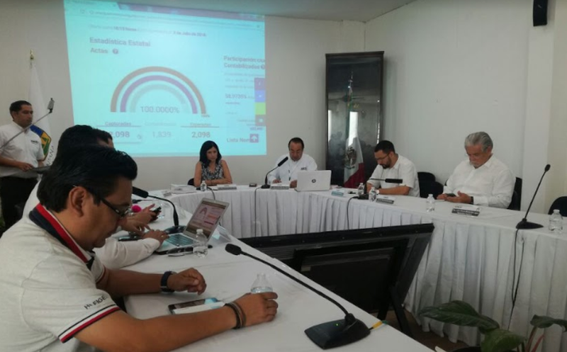 El domingo se darán a conocer los resultados oficiales de las elecciones municipales, en Quintana Roo.  (Benjamín Pat/SIPSE)