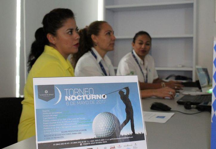 El evento Torneo de Golf Nocturno, se inaugurará este 6 de mayo con un partido Green-fee; habrá premio para los primeros tres lugares. (Adrián Barrteo/SIPSE)