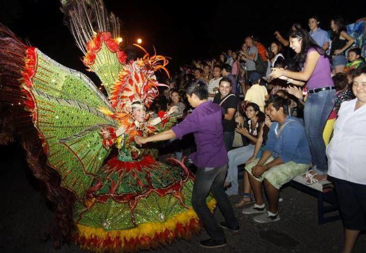 El Carnaval de Mérida, 'La fiesta que nos une', contará con la presencia de 'Aguiluchos Marching Band', 'Daddy Yankee', entre muchos otros artistas. (Foto de archivo de SIPSE)