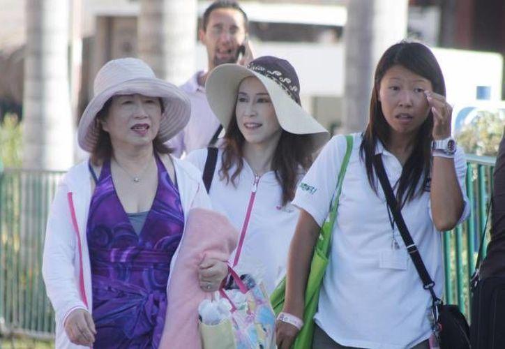 Japón, Israel, China e India no tienen conexión aérea directa con Cancún, sin embargo, superan la cifra de turistas que vienen de Centroamérica. (Archivo/SISE)