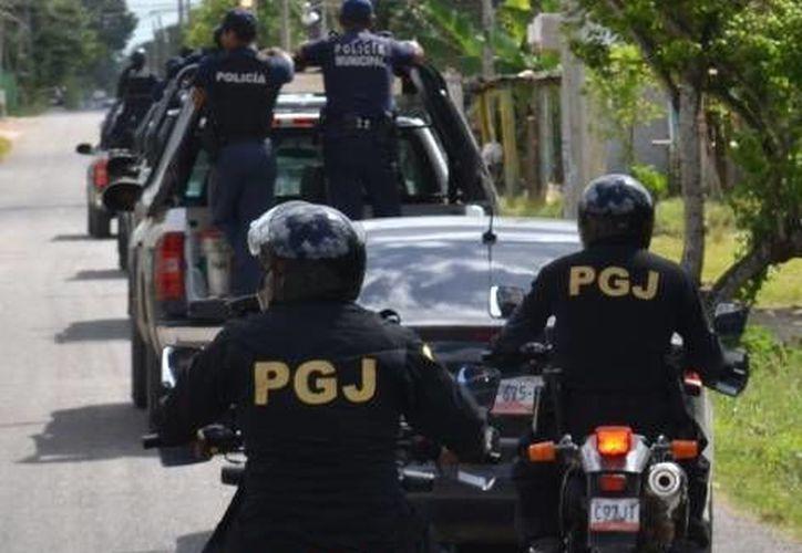 Elementos de la Policía Judicial lograron recuperar la camioneta del afectado. (Redacción/SIPSE)