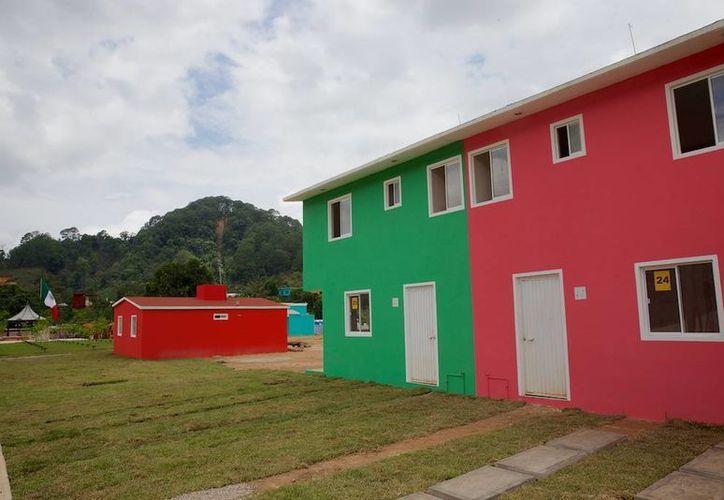 La Pintada luce hoy un nuevo rostro tras la pérdida de 71 de sus pobladores. (Presidencia)
