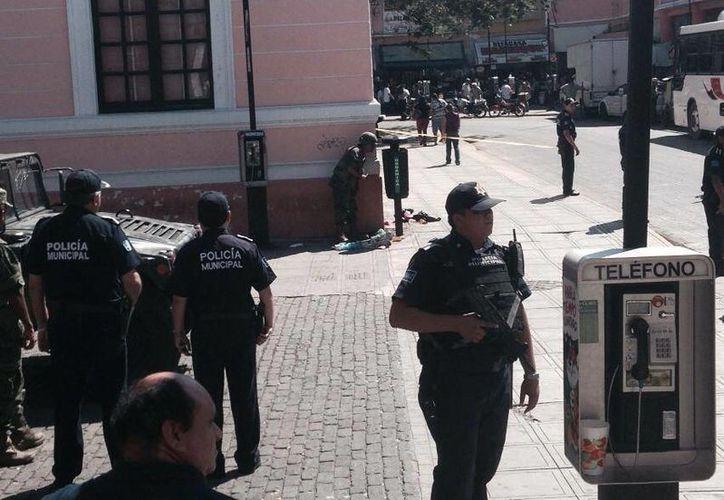 Un pepenador halló los explosivos y dio la voz de alarma. (Jorge Sosa/SIPSE)