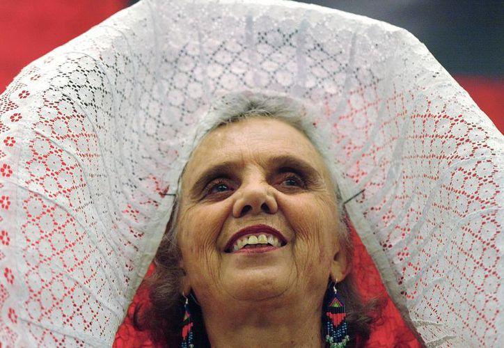 Elena Poniatowska es la cuarta mujer galardonada con el Premio Cervantes desde su creación en 1975. (Agencias)