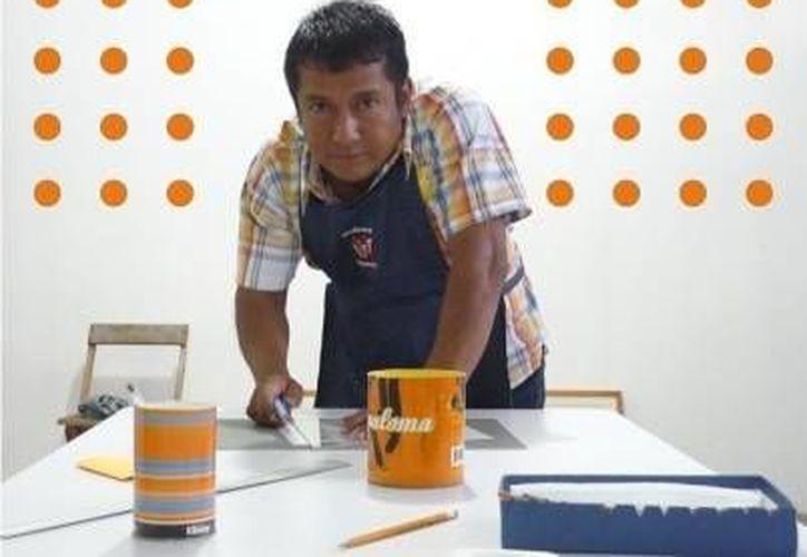 El oaxaqueño Soid Pastrana es el autor del mural. (Agencias)