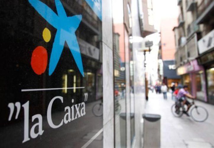Una sucursal de La Caixa en Málaga fue escenario del 'asalto'. (Reuters)