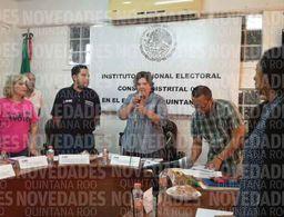 Se registran pequeños incidentes en las votaciones en Cancún
