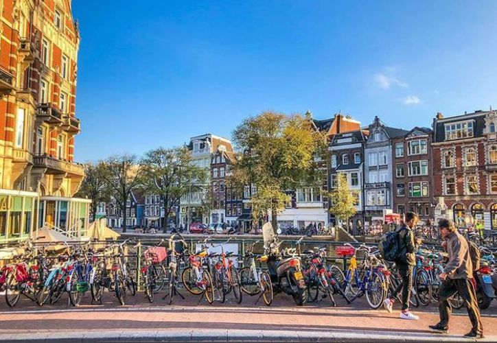 Ámsterdam busca regalar nuevas experiencias a quienes visiten su territorio como turistas. (Instagram/@chrishuang1002)