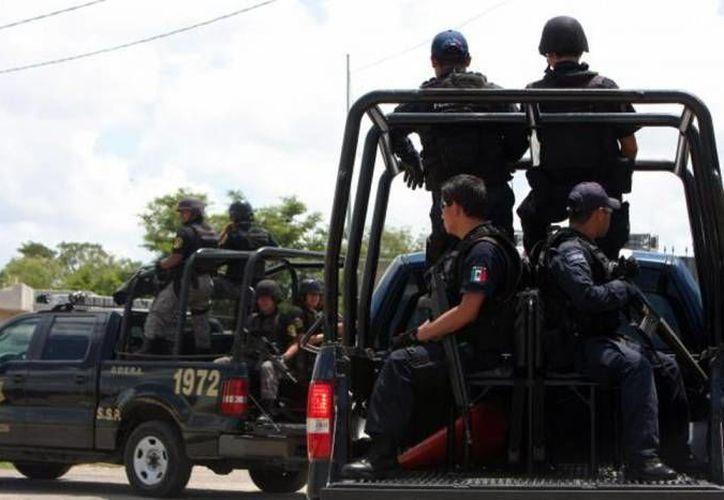 Los policías del Operativo Peninsular Coordinado contarán con apoyos de la Sedena, Semar, PGR y Policía Federal. (Milenio Novedades)
