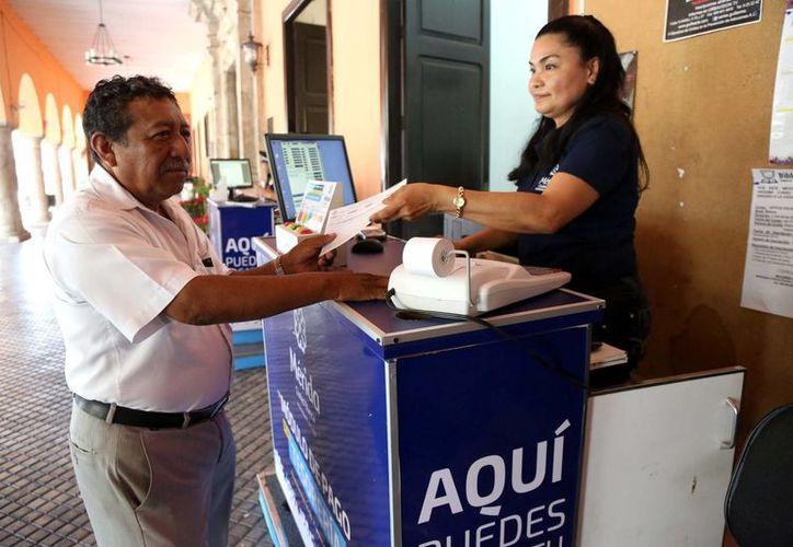 Se instalaron 56 cajas recaudadoras en el municipio para que los meridanos puedan cumplir con su pago de predial. (Milenio Novedades)