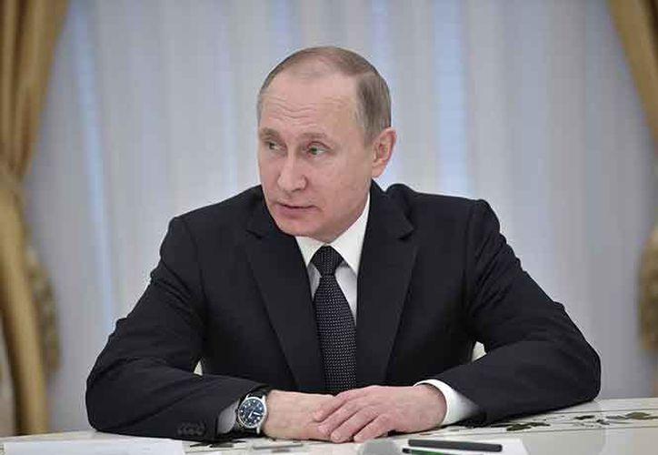 El presidente declaró que la paz y armonía prevalecerán en EU. (Foto: AP)
