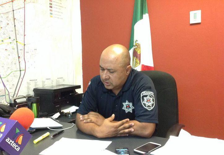 Juan Carlos García Miranda dijo que van a cerrar parcialmente las vialidades mientras duren las marchas. (Eric Galindo/SIPSE)