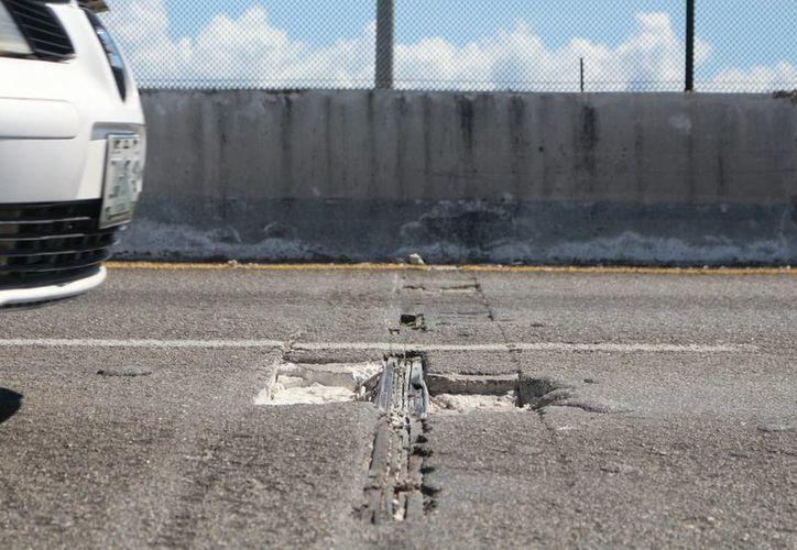 Durante tres meses la SCT realizará reparaciones en uno de los puentes de Playa del Carmen. (Adrián Barreto/SIPSE)
