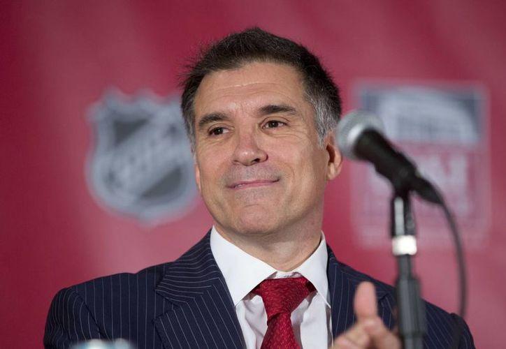 Vincent 'Vinnie' Viola también es dueño del equipo profesional de hockey de las Panteras de Florida, además de que fungió como director del Mercado Mercantil de Nueva York (NYMEX). (AP/J Pat Carter)