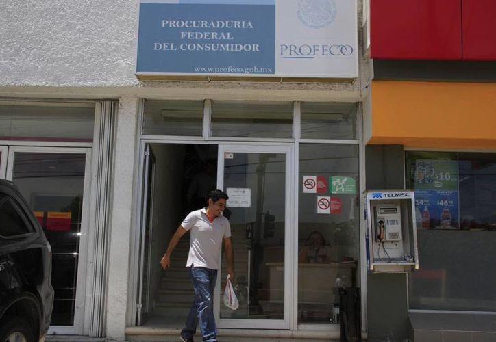 Para más información, llamar o acudir a las instalaciones de la Profeco. (Tomás Álvarez/SIPSE)