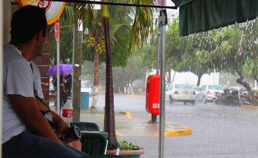 Se espera que en los próximos días llueva en la Riviera Maya. (Daniel Pacheco/SIPSE)