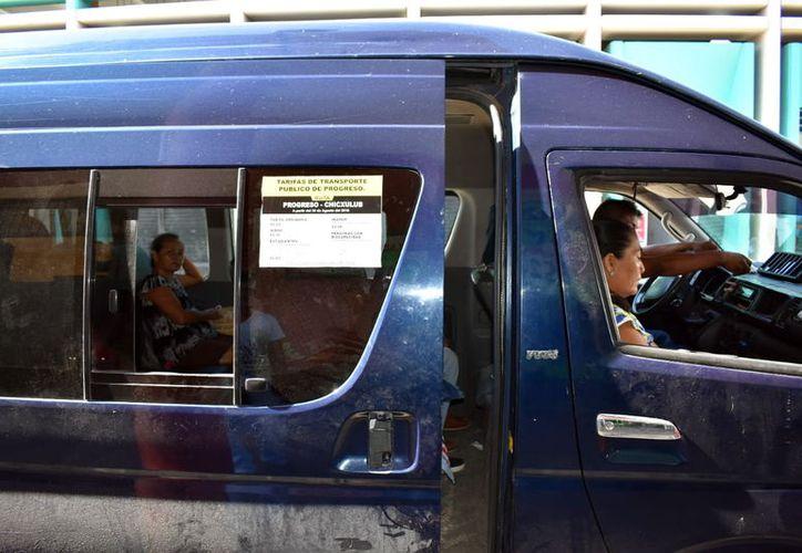 Los progreseños pagan desde este viernes un peso más por el transporte. (Foto: Milenio Novedades)