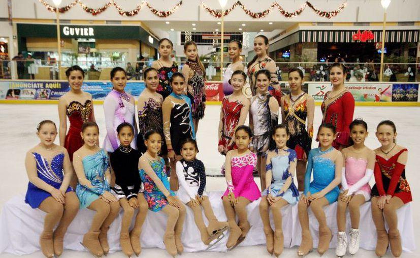 El equipo de patinaje yucateco ganó cinco medallas de oro, cinco de plata y dos bronces. (SIPSE)