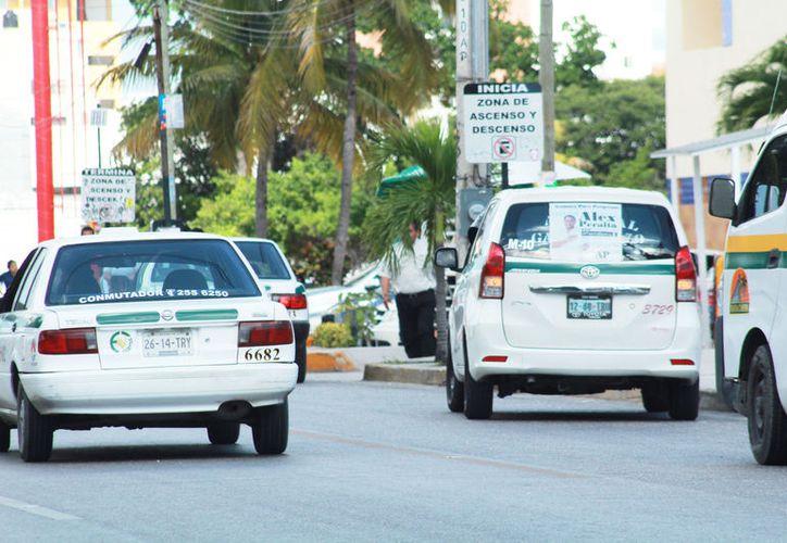 La mayoría de las unidades de transporte en todo el estado tiene más de 10 años de uso: (Foto Ivette Ycos)