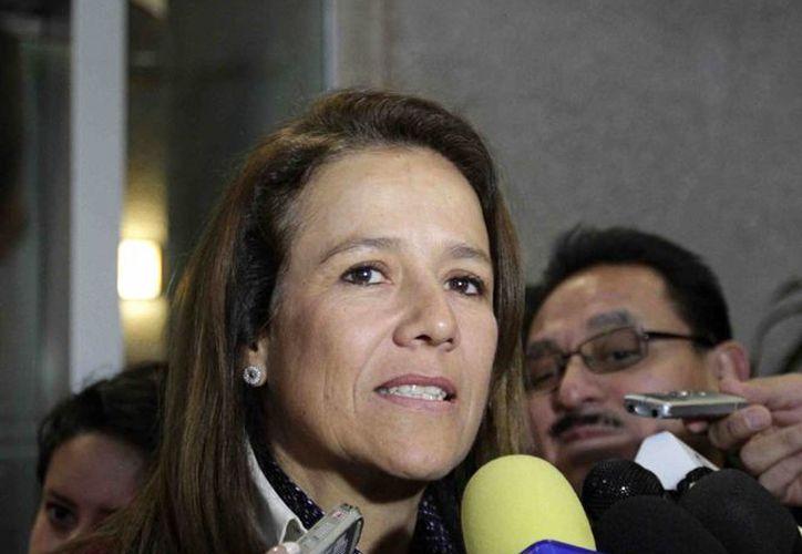 Margarita Zavala dejó en claro que quiere subir a la presidencia con una candidatura del PAN, pero no descarta el poder volverse candidata independiente. (Notimex)