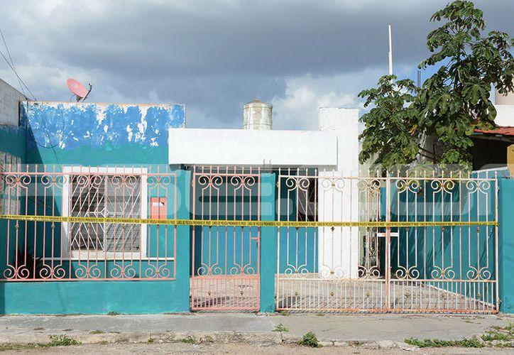 El suicidio se cometió en el fraccionamiento Francisco de Montejo. (Victoria González/SIPSE)
