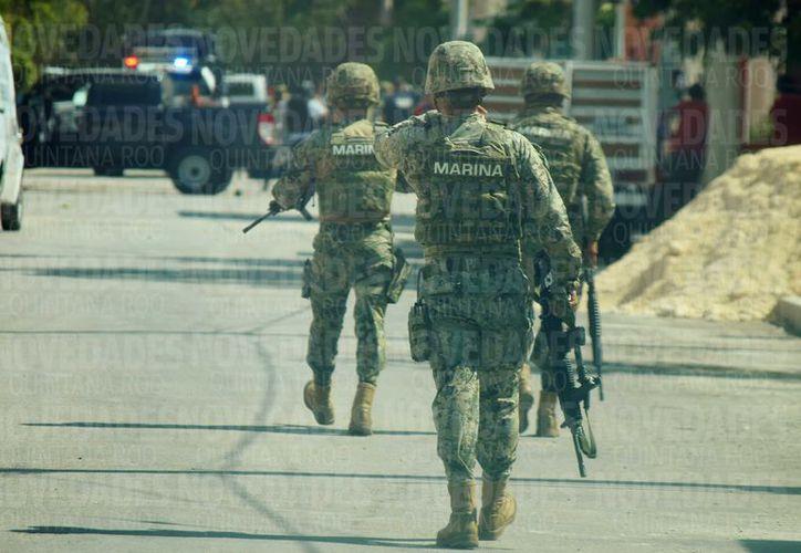 En Cozumel se encuentran las bases de la Secretaría de Marina Armada de México, Ejercito Mexicano, Policía Federal, Procuraduría General de la República y Fuerza Aérea Mexicana, para frenar la delincuencia. (Gustavo Villegas/SIPSE)