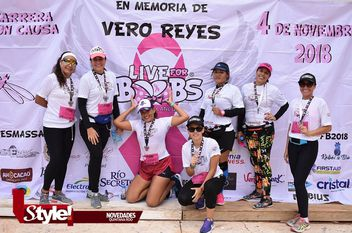"Carrera con causa ""Live for Boobs"""