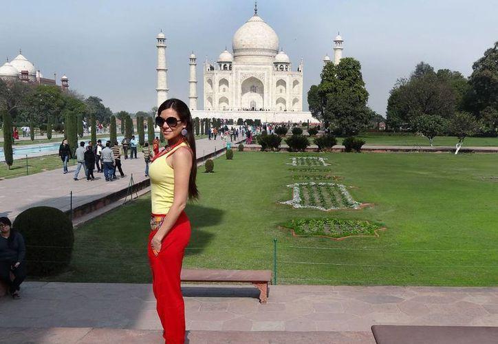 Julia Orayen dice que aprendió mucho acerca de la cultura india. (Notimex)