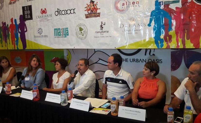 Los organizadores señalaron que será la tercera vez que se realice en este destino turístico. (Raúl Caballero/SIPSE)