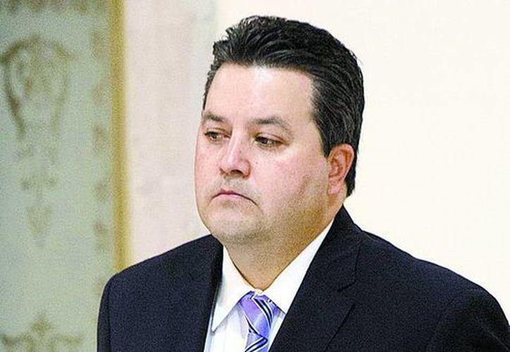 """""""Es un asunto de gobernabilidad, totalmente"""", dijo el oficial mayor de Gobernación, Jorge Márquez Montes."""