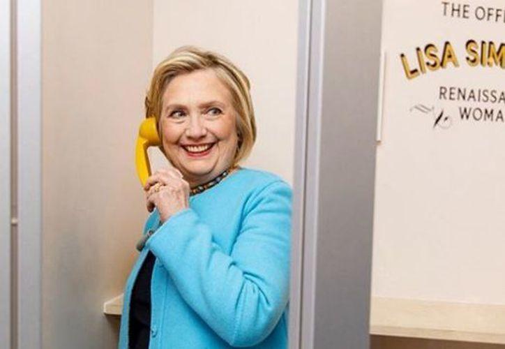 Clinton estuvo cerca de convertirse en la primera mujer en presidir Estados Unidos. (Instagram)