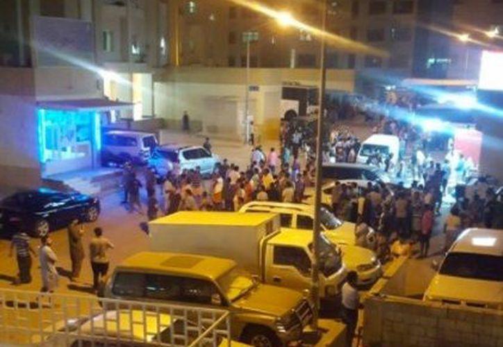 El terremoto se registró a 204 kilómetros al noreste de Bagdad. (@DanielWZDC).