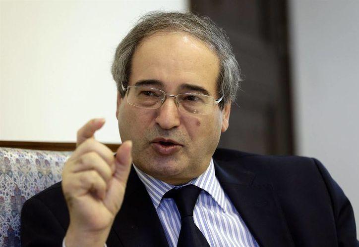 Faisal al Mekdad aseguró que Francia está subordinada a Washington. (Agencias)