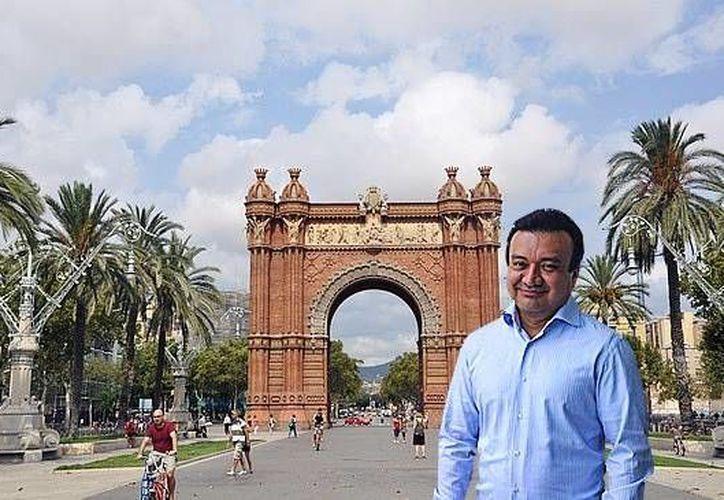 Martín Alberto Medina Sonda está vinculado al escándalo de corrupción del ex gobernador de Tabasco Andrés Granier, por ser socio del ex tesorero José Manuel Saiz Pineda. (Facebook)