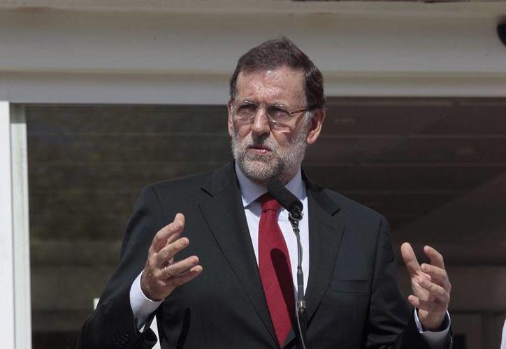 Mariano Rajoy aseguró que España no pretende desestabilizar al nuevo gobierno de Grecia. (Archivo/Notimex)