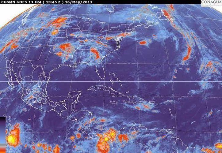 Soplarán vientos del este y noreste de 20 a 40 km/h. (Cortesía/SIPSE)