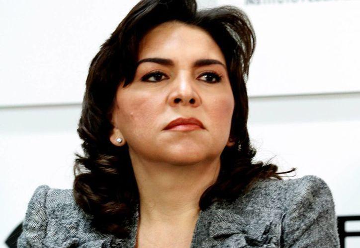 La exgobernadora de Yucatán aseguró que el PRI está a favor de una campaña limpia y sin agresiones. (Archivo/Notimex)