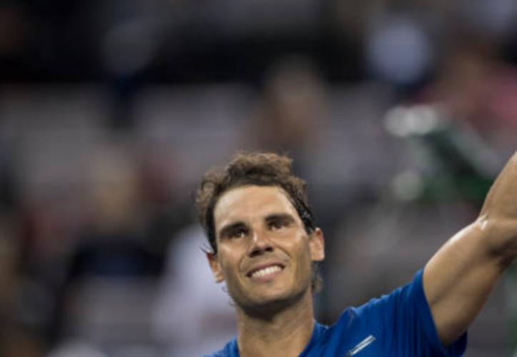 Rafael Nadal logró superar una fase más de su camino hacia el triunfo en el Masters 1000 de Shanghái. (Getty Images).
