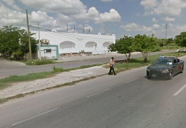Los hechos se presentaron en una bodega ubicada en Periférico de Mérida. (Google Maps)