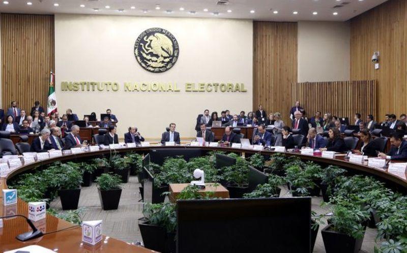 PRD, PVEM, MC, Panal y PES sin registro federal. (foto: INE)