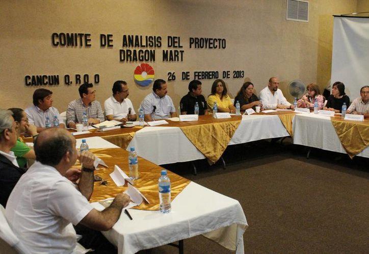 El comité sustuvo ayer su primera reunión. (Jesús Tijerina/SIPSE)