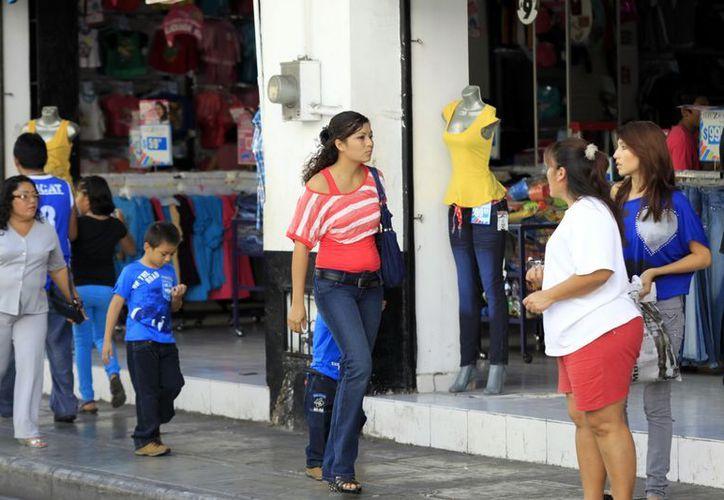"""Tras las ventas del fin de semana, el sector comercial de Mérida sufrirá un importante """"bajón"""". (SIPSE)"""