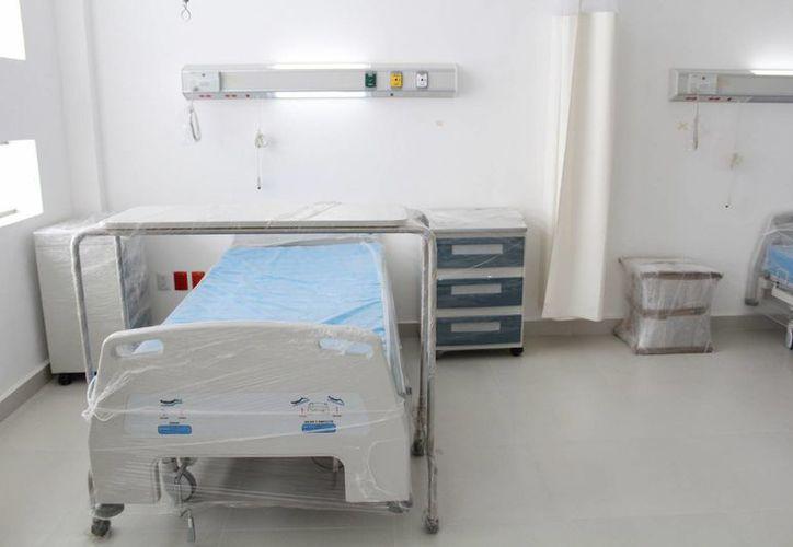 El nosocomio contará con 180 camas de hospital, 78 camas de terapia intensiva y 54 de urgencias. (Luis Soto/SIPSE)