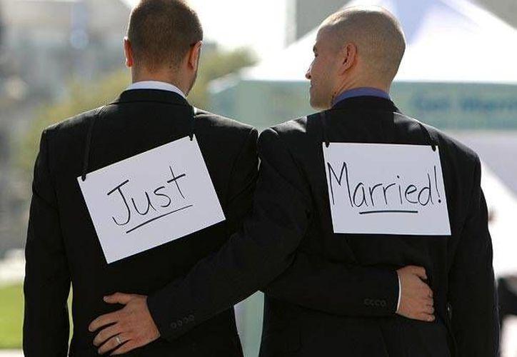 Actualmente las parejas homosexuales ya pueden contraer matrimonio en todos los estados de la costa Este del país. (ch-vere.com)