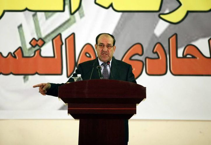 El primer ministro de Irak, Nuri al-Maliki. (Archivo/EFE)