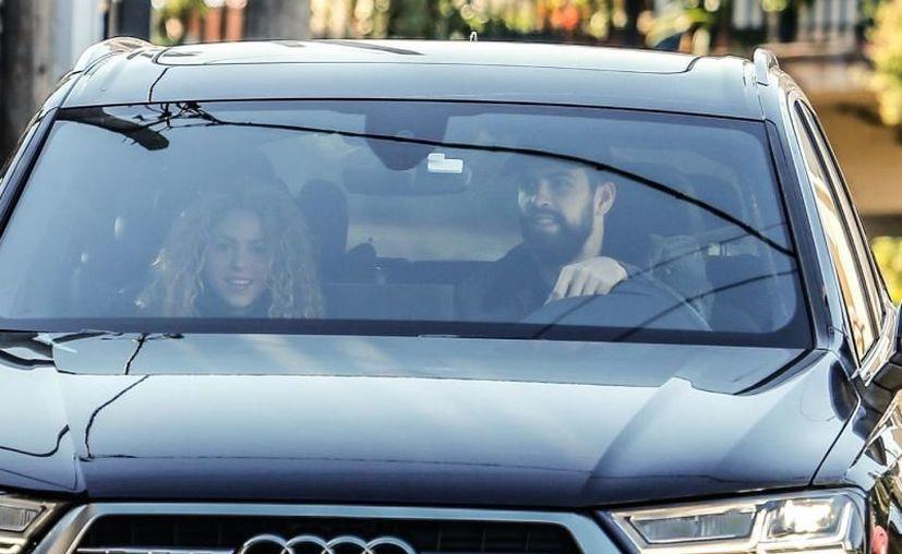 La pareja fue vista llegando a un centro médico en Barcelona. (Foto: Grosby Group)