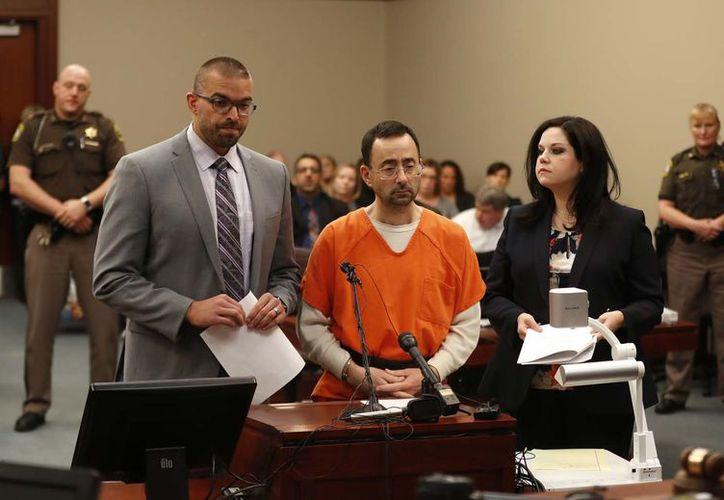 Larry Nassar, de 54 años, admitió haber agredido a siete niñas gimnastas- (Foto: AP)