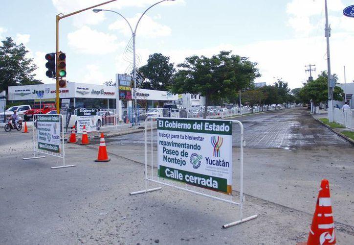 El cuerpo oriente del Paseo de Montejo está prácticamente listo. (Juan Albornoz/SIPSE)
