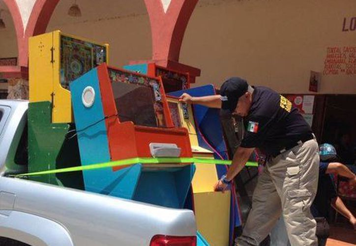 En lo que va de este año se han decomisado en Yucatán más de 500 máquinas mediante denuncia o por órdenes de cateo. (Milenio Novedades)