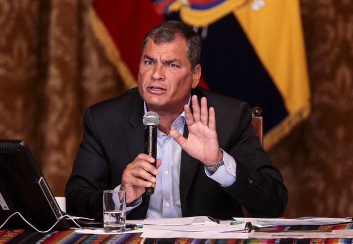 El presidente de Ecuador, Rafael Correa, confirmó que las autoridades suecas interrogarán a Julian Assange en las instalaciones diplomáticas de su país en Londres. (EFE)